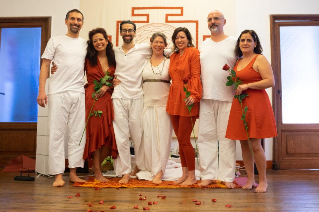 Gruppo del Corso di Massaggio Tantrico