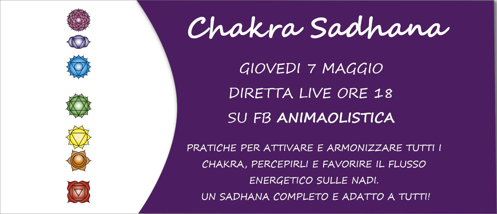 Chakra Sadhana 7 maggio