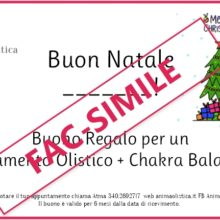 Gift Card Natale 2020